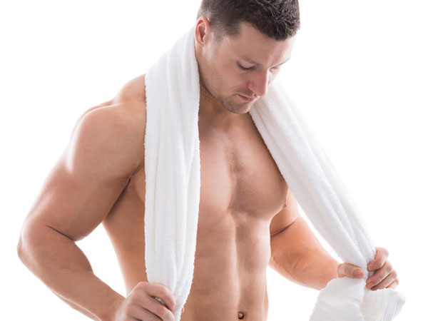Towel service private gym