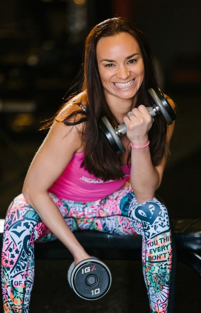 Ana Tourino at Tahoe Club 100 trainer