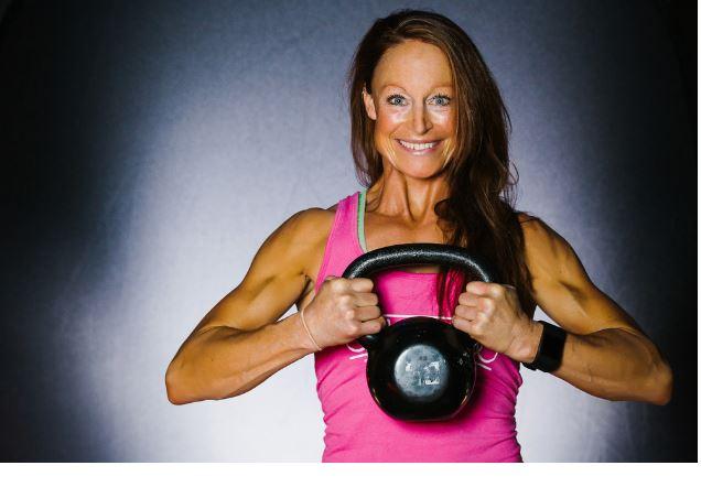 Rosie Cowen trainer at tahoe club 100