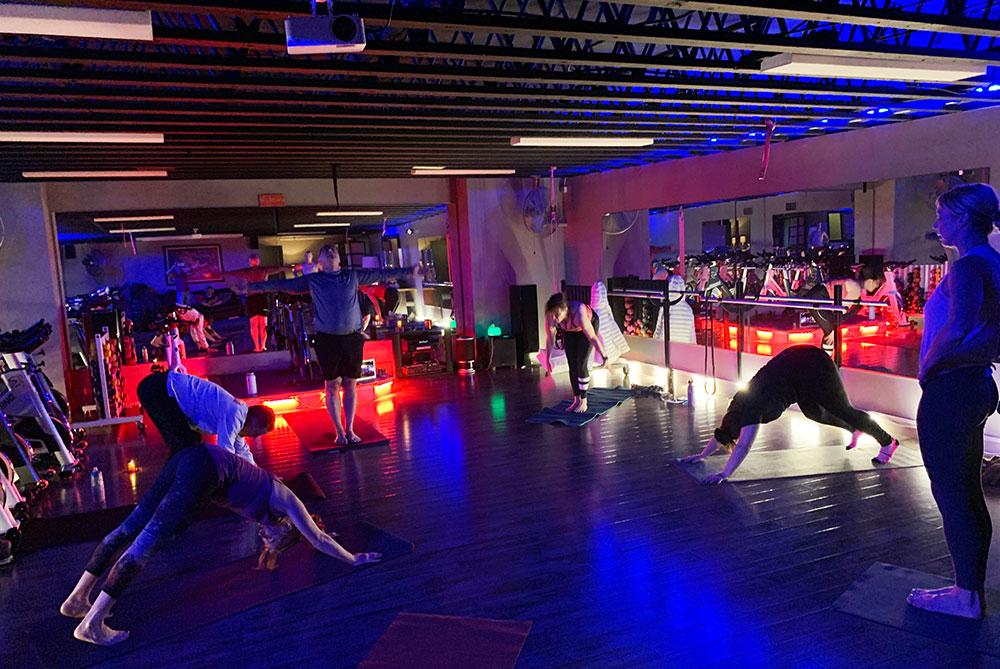 Fitness class by Rosie Cowen 2021